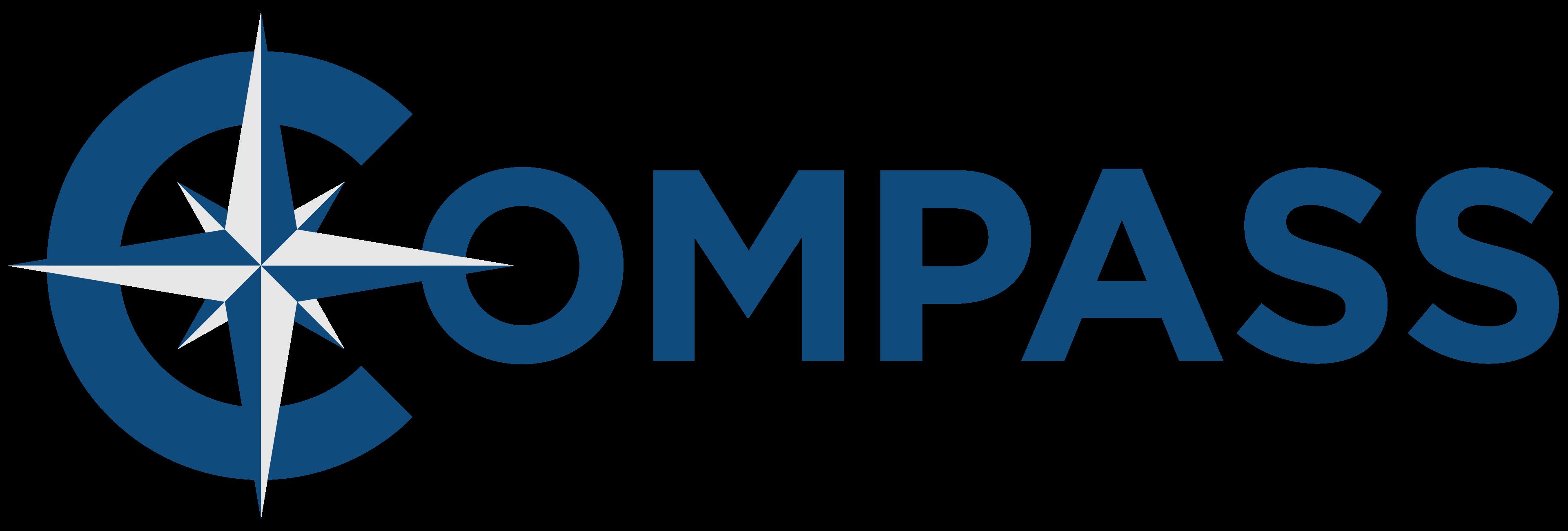 compass logo 4k SOLO
